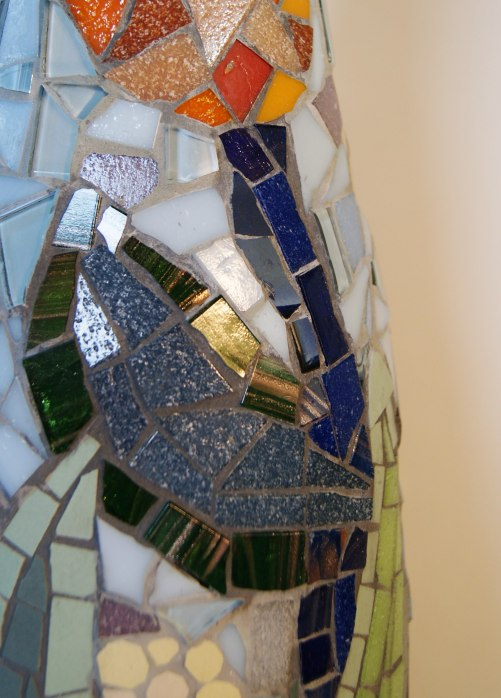 Mosaic mirror etc