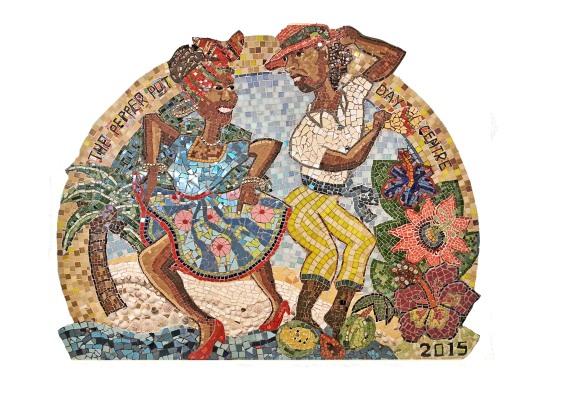 Pepper pot mosaic